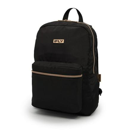 Cheap Black Backpacks (iFLY Heather 16