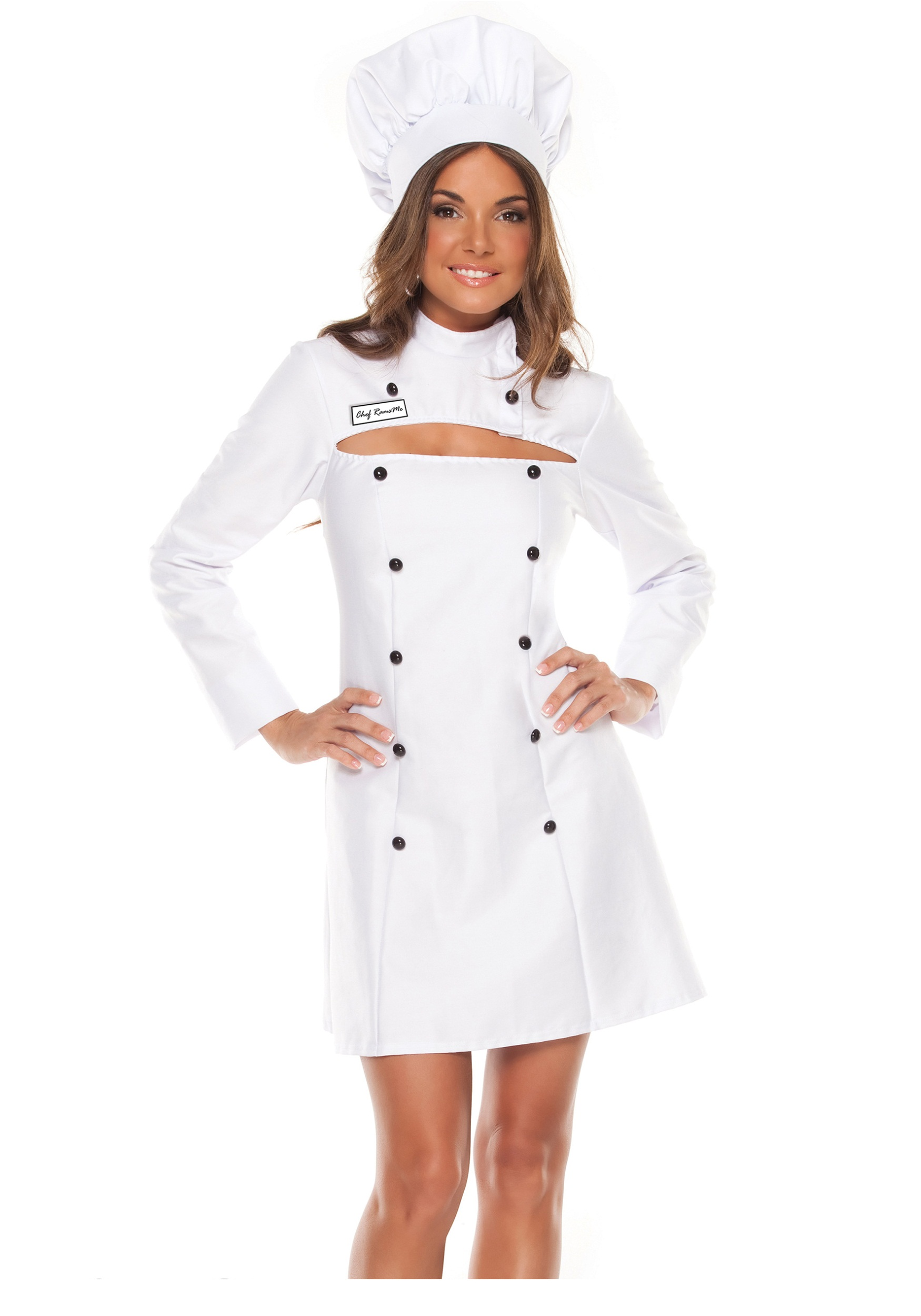 Womens Plus Size Chef Costume  sc 1 st  Walmart & Womens Plus Size Chef Costume - Walmart.com