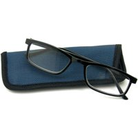 Foster Grant Men's Otto +1.75 Reading Glasses, Black