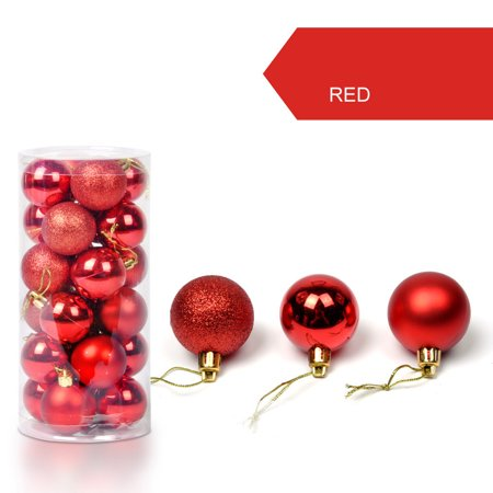 30mm Christmas Xmas Tree Ball Bauble Hanging Home Party Ornament Decor ()