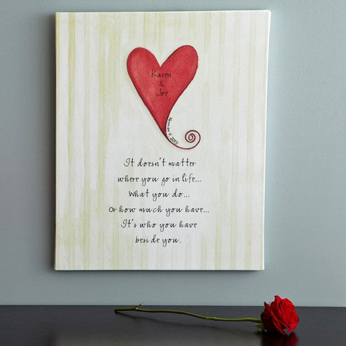 Personalized Wedding Canvas: Personalized Wedding Canvas