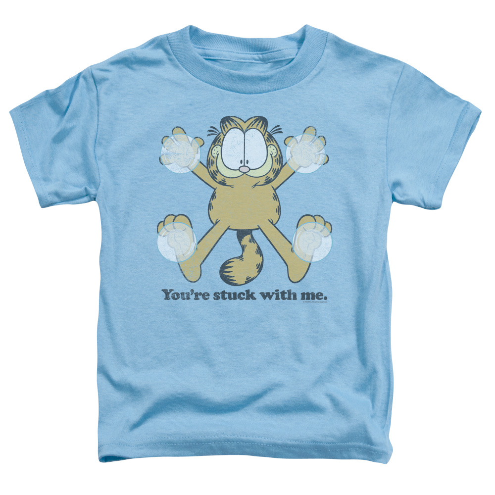 GARFIELD/STUCK - S/S TODDLER TEE - CAROLINA BLUE - MD (3T)