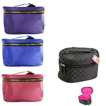 Little Black Travel Case - Beauty Travel Cosmetic Bag Girl Fashion Multifunction Makeup Pouch Toiletry Case