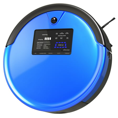 bObsweep PetHair Plus Robotic Vacuum Cleaner and Mop - Blue