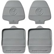 Prince Lionheart Two Stage Seat Saver 2 Pack, Grey