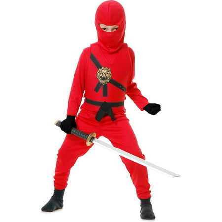 Child Red Ninja Avengers Series 1 Costume - The Red Ninja