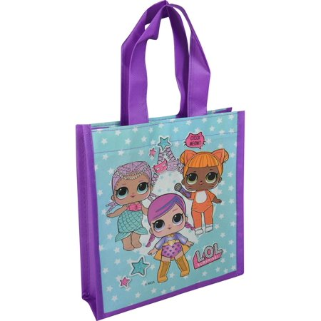 UPD LOL Surprise Mini Reuseable Shopping Tote Bag  Novelty Character Accessories - Novelty Purses