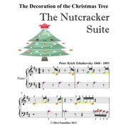 Decoration of the Christmas Tree the Nutcracker Suite Beginner Piano Sheet Music with Colored Notes - eBook