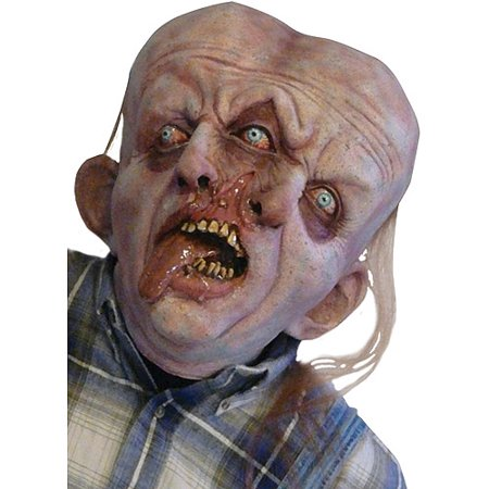Gemini Adult Halloween Latex Mask Accessory - Professional Foam Latex Halloween Masks