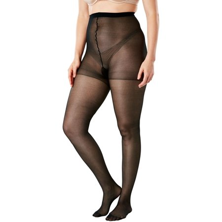 Plus Size Sheer Tights (Comfort Choice Plus Size 2-pack Sheer Tights)