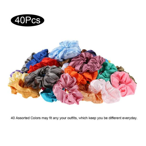 Details about  /Print Hair Accessories Girls Hair Rope Hair Scrunchies Women Elastic Hair Bands