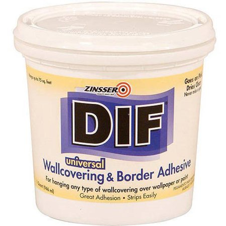 Zinsser DIF Wallcovering and Border Adhesive Buy 4 Get 1 Bonus