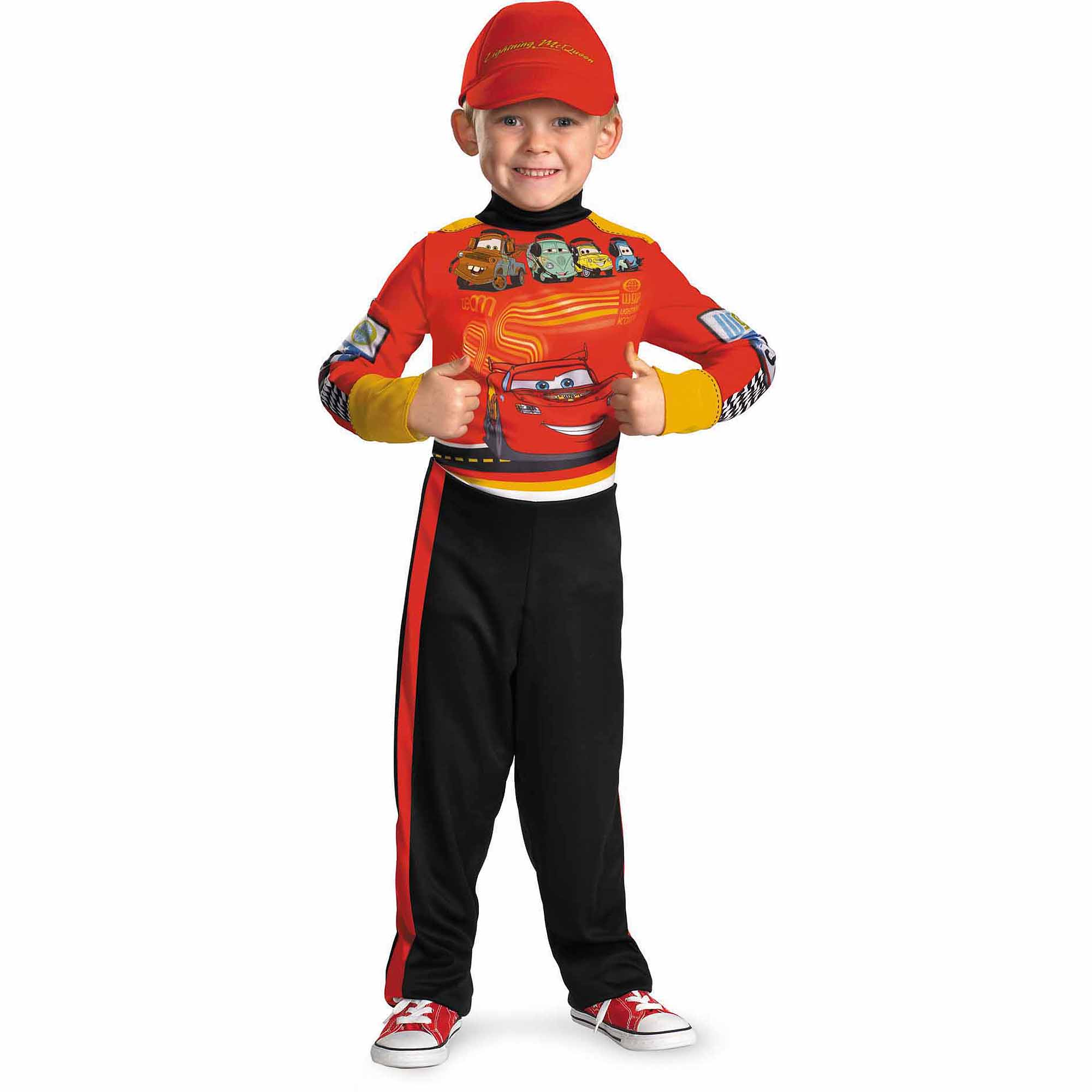 Lightning McQueen Child Halloween Costume