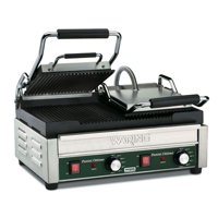 Waring Commercial WPG300 Panini Tostato Ottimo Dual Italian-Style grooved Grills, 240-volt