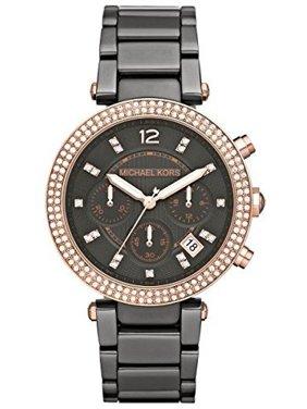 New MICHAEL KORS MK5539 Women's Gunmetal Crystal Watch