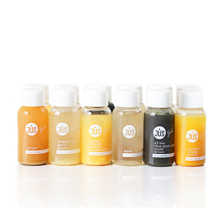 Jus by Julie Booster Juice Shots, Assorted Flavors, 12 Count