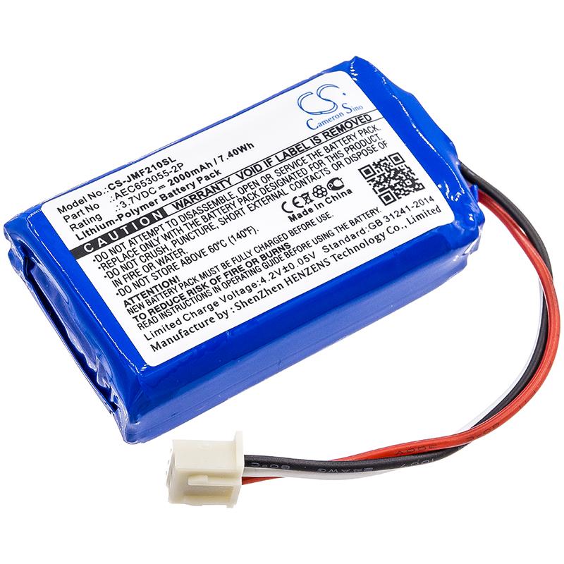 700mAh Micro Wireless 2013 Cameron Sino Battery Compatible with JBL Micro