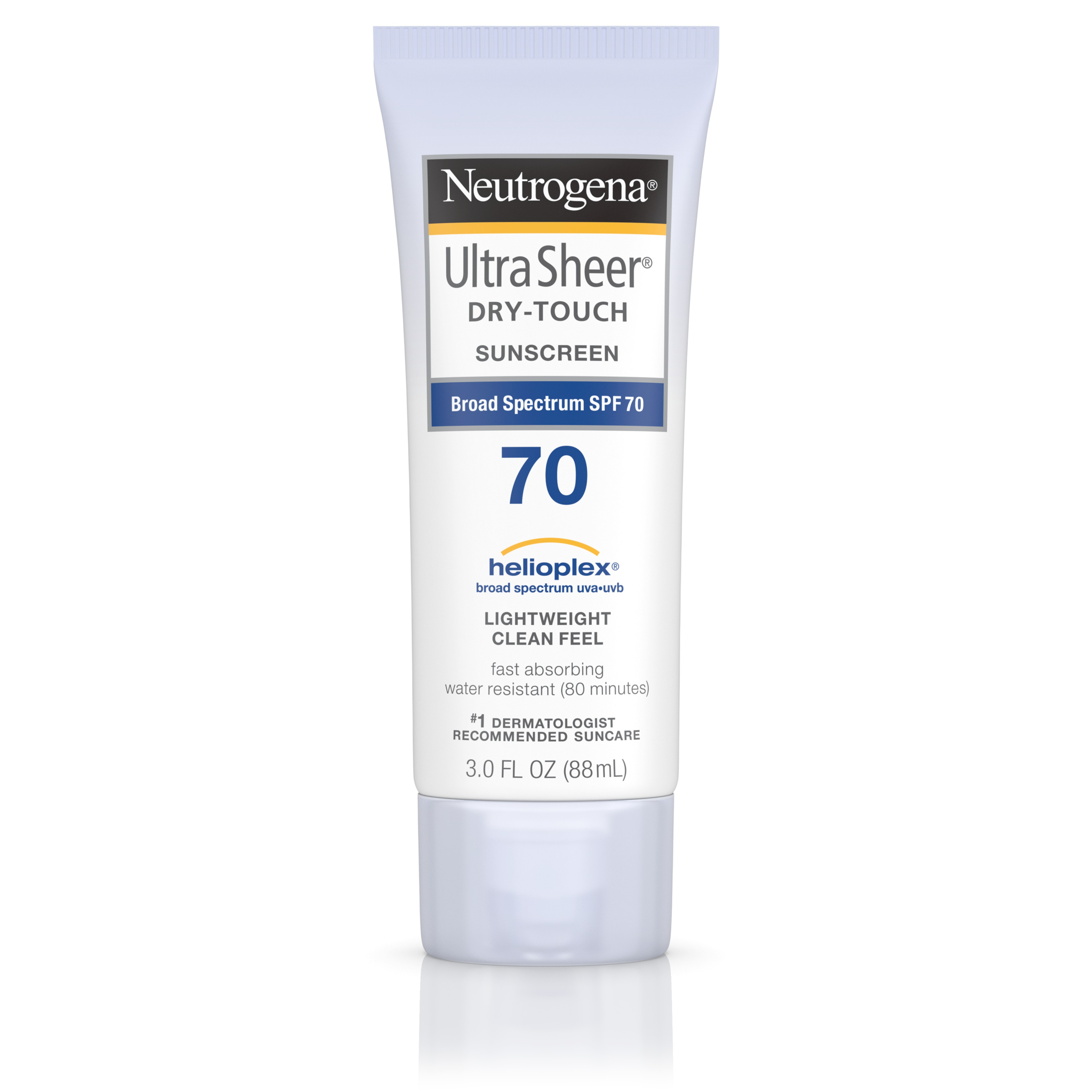 Neutrogena Ultra Sheer Dry-Touch Sunscreen, Broad Spectrum Spf 70, 3 Oz. - Walmart.com