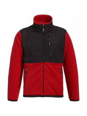 509f06874 Free shipping. Product Image Landway Men's Premium Fleece Jacket zipper  with Nylon, Style 9811