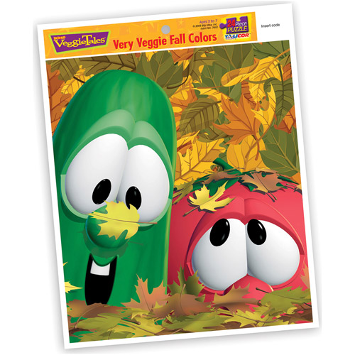 Veggies Very Veggie Fall Colors Inlaid Puzzle, 24 Pieces