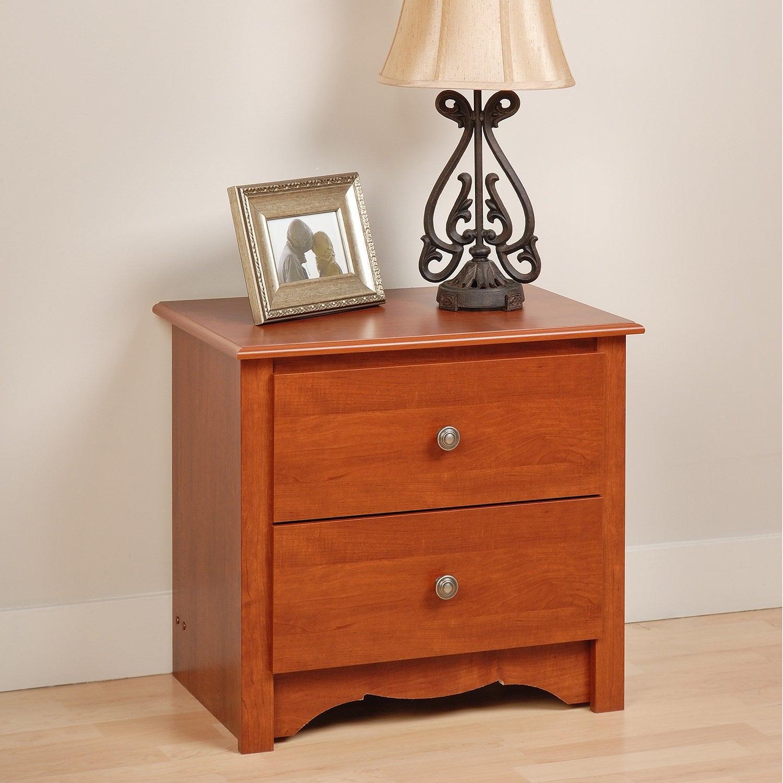 Prepac Monterey Two-drawer Nightstand