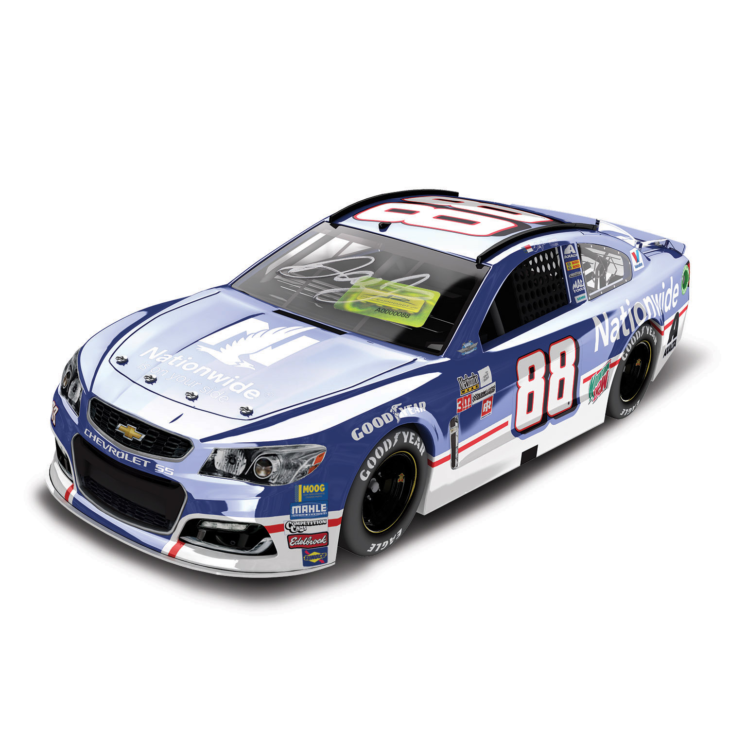 Dale Earnhardt Jr. Action Racing 2017 #88 Nationwide Darlington 1:24 Monster Energy Nascar... by Lionel LLC