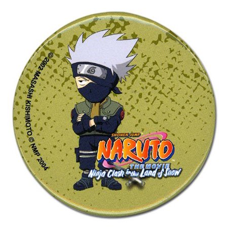 Naruto: Movie Kakashi Button