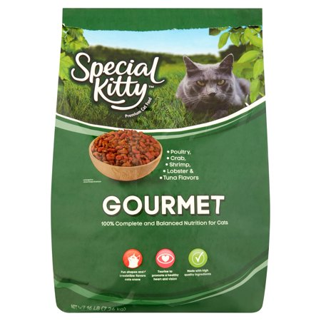 Special Kitty Gourmet Formula Dry Cat Food  16 Lb