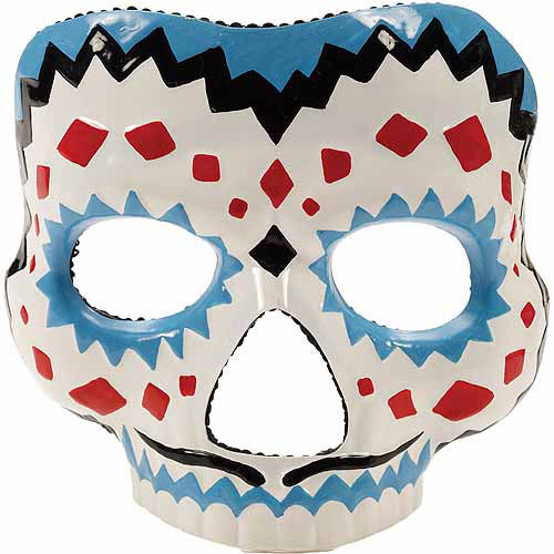 Day of the Dead Male Mask Adult Halloween Accessory