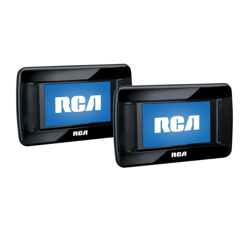 "RCA 7"" Twin DVD Player for iPod iPhone by RCA"