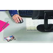 Artistic KrystalView Desk Pad with Microban, 22 x 17, Matte, Clear