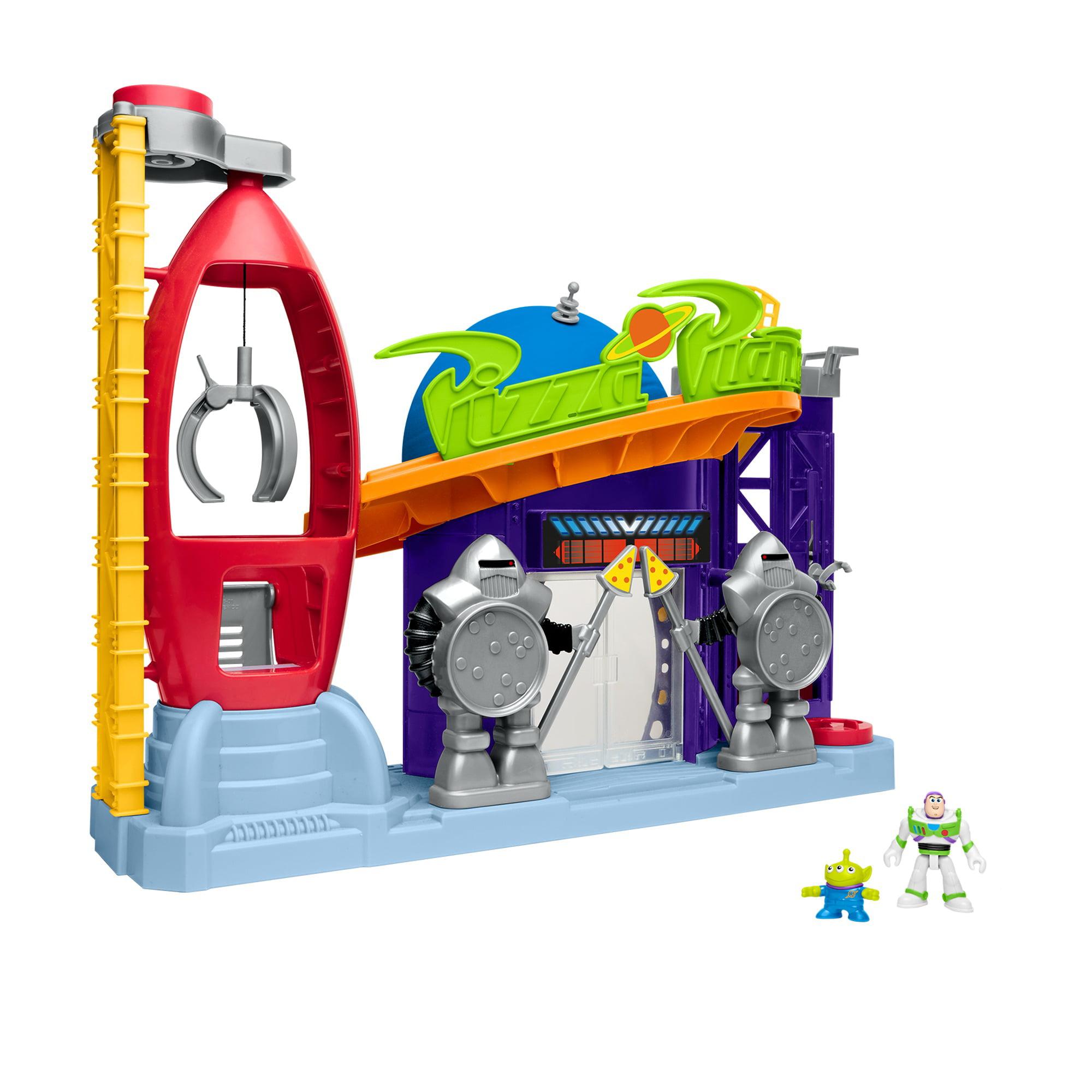 Imaginext Disney Pixar Toy Story Pizza Planet Playset Walmart Com Walmart Com