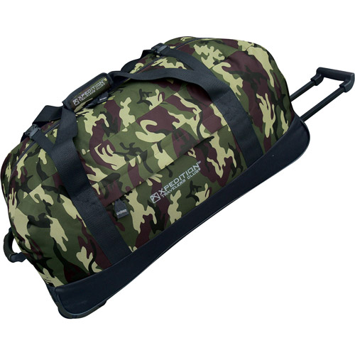"Travelers Club Xpedition 36"" Rolling Duffel"