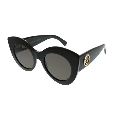 Fendi FF0306S 0807 Black Cat Eye Sunglasses ()