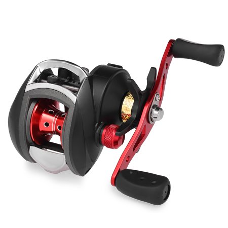 12+1 BB Ball Bearing 8.1:1 Bait Casting Fishing Reel One-way Clutch Baitcasting Reel Left/Right Hand Fishing Reel Magnetic Brake Lure Fishing Reel - image 4 de 7