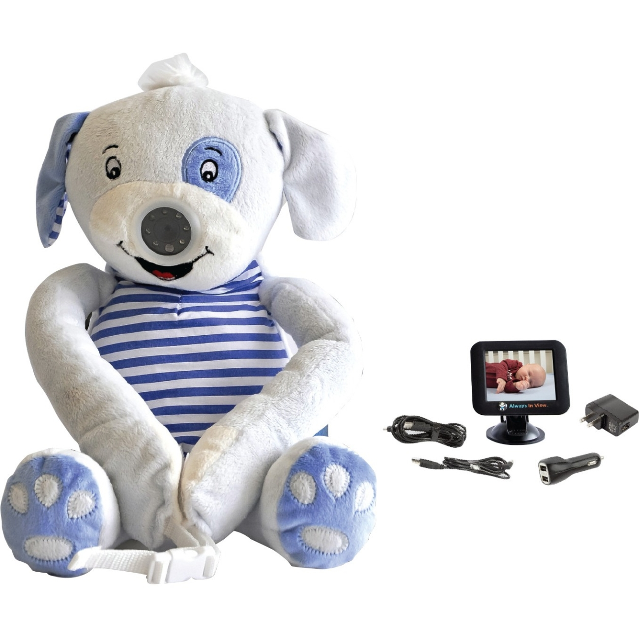 Always In View Baby Monitor For Cars, Pu