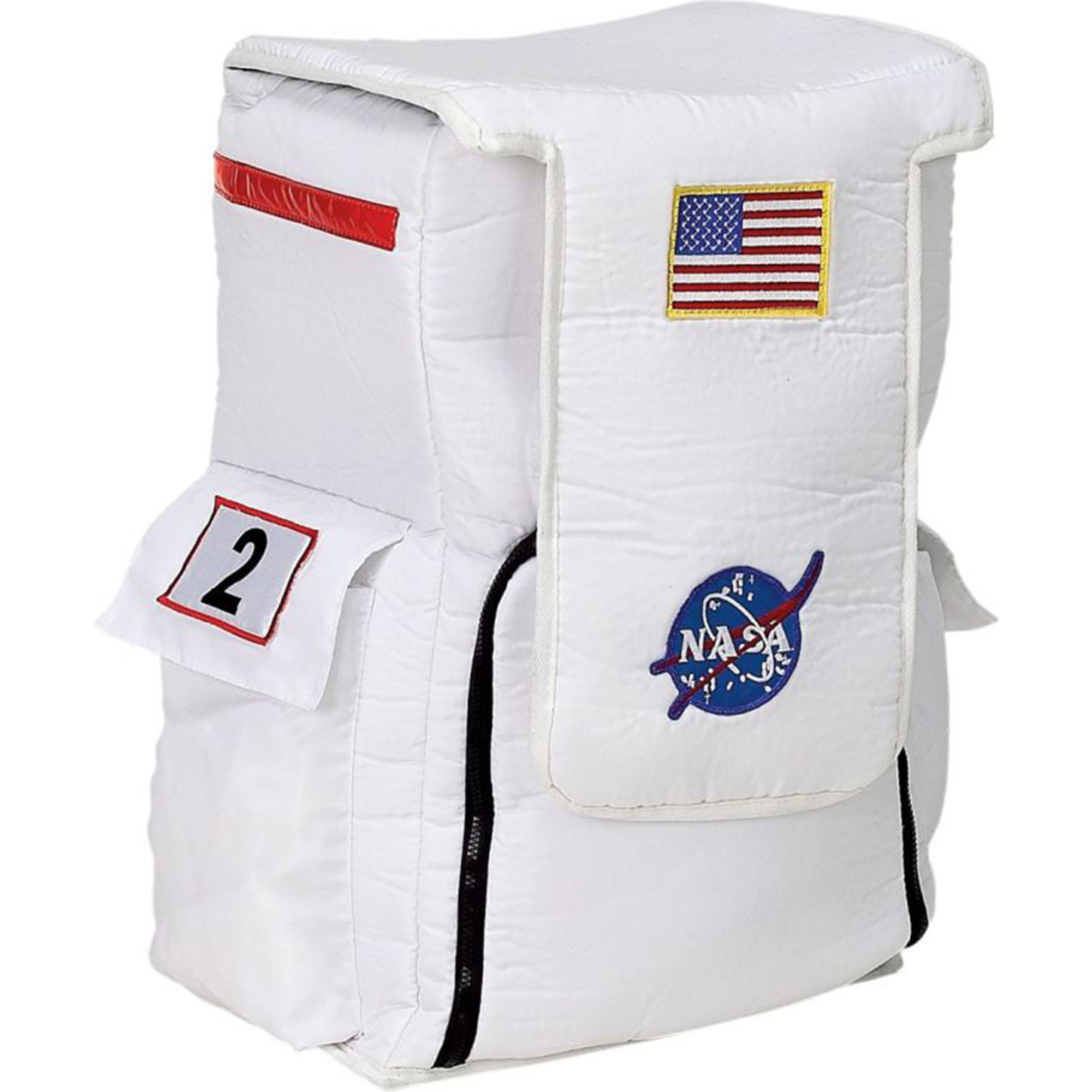 Morris Costumes Astronaut Backpack White Child Halloween Accessory