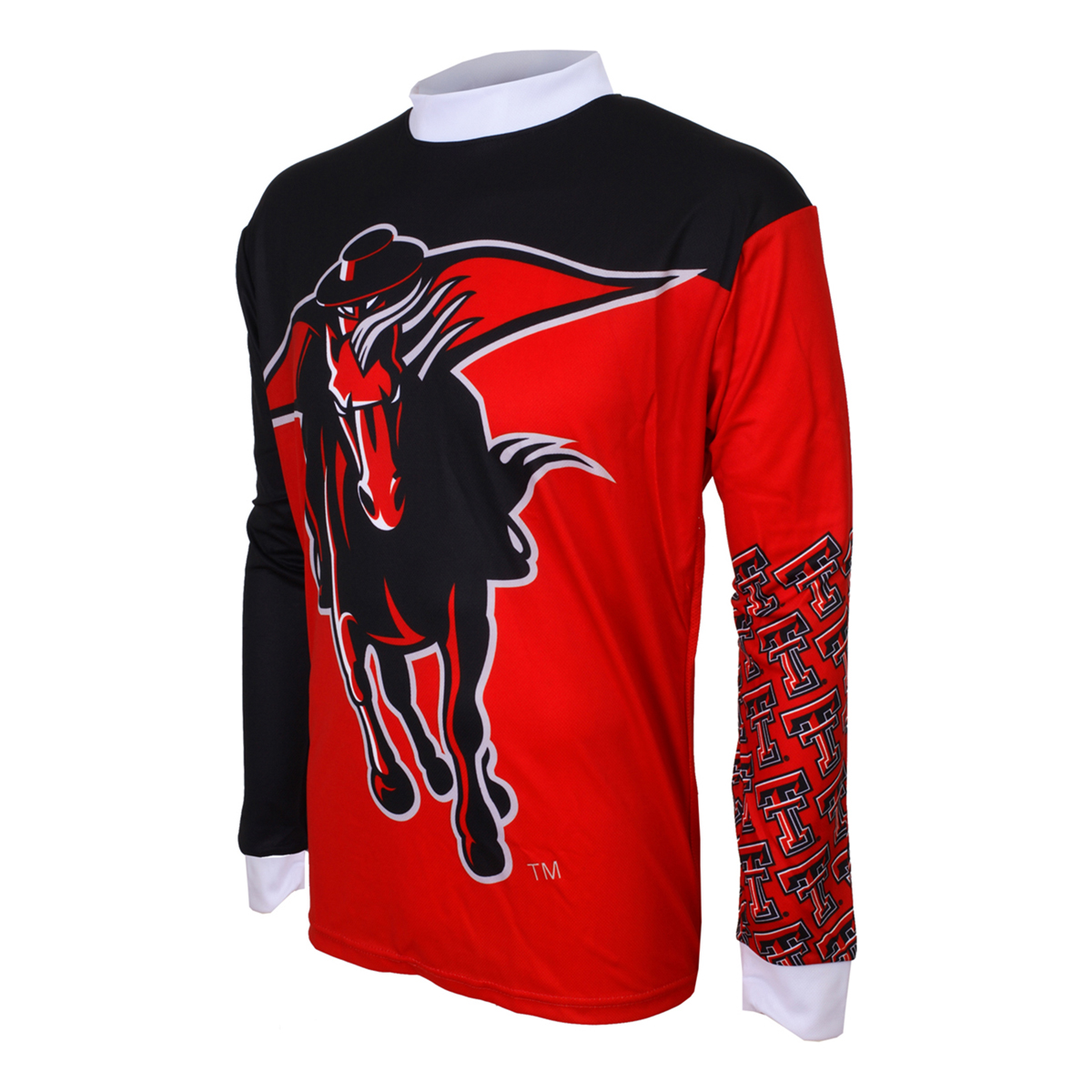 Adrenaline Promotions Texas Tech University Red Raider Long Sleeve Mountain Bike Jersey