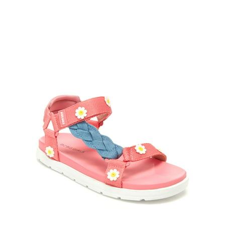 BCBG Girls Brooklynn Daisy Braided Sporty Sandals (Little Girls & Big Girls)