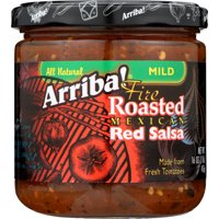 ARRIBA: Fire Roasted Mexican Red Salsa Mild, 16 Oz