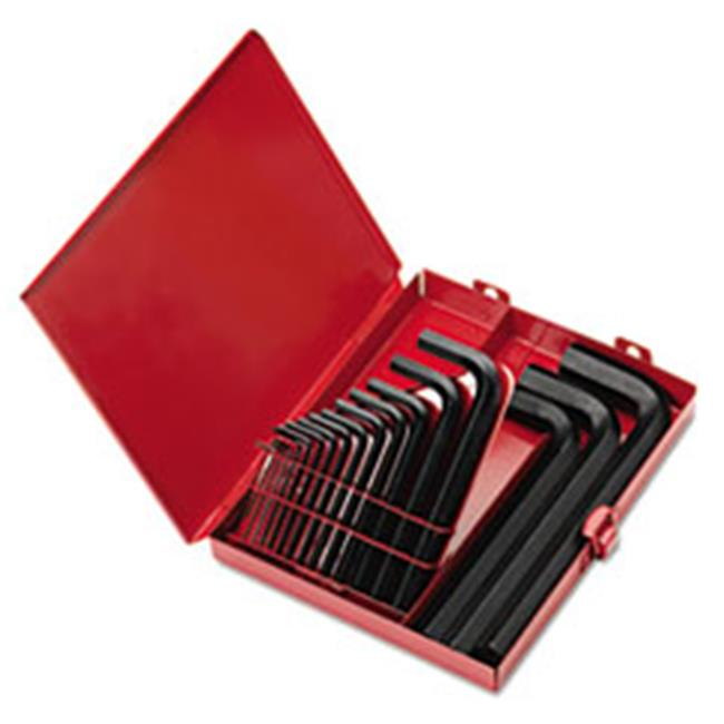 Ekl 10118 SAE Short-Arm Hex Key Set, 18 Piece