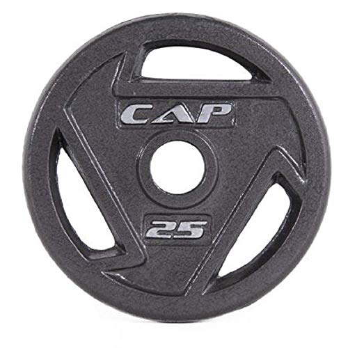 45-Pound CAP Barbell 2-Inch Olympic Grip Plate Set of 2