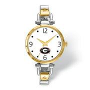 FB Jewels LogoArt University of Georgia Elegant Ladies 2-tone Watch