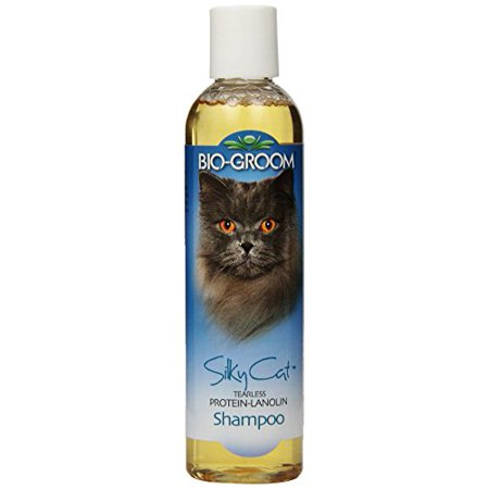 Bio-Groom Silky Cat Protein and Lanolin Shampoo, 8-Ounce Multi-Colored