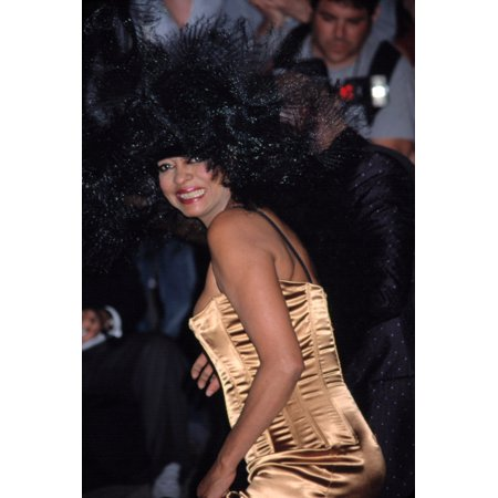 Celebrity Costumes For Sale (Diana Ross At Metropolitan Museum Of Art Costume Institute Gala Ny 4232001 By Cj Contino)