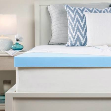 Sealy 25 Inch Memory Foam Mattress Topper With Cover King 25