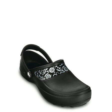 Crocs Women's Mercy Work Clogs (Crocs Women Flat Shoes)