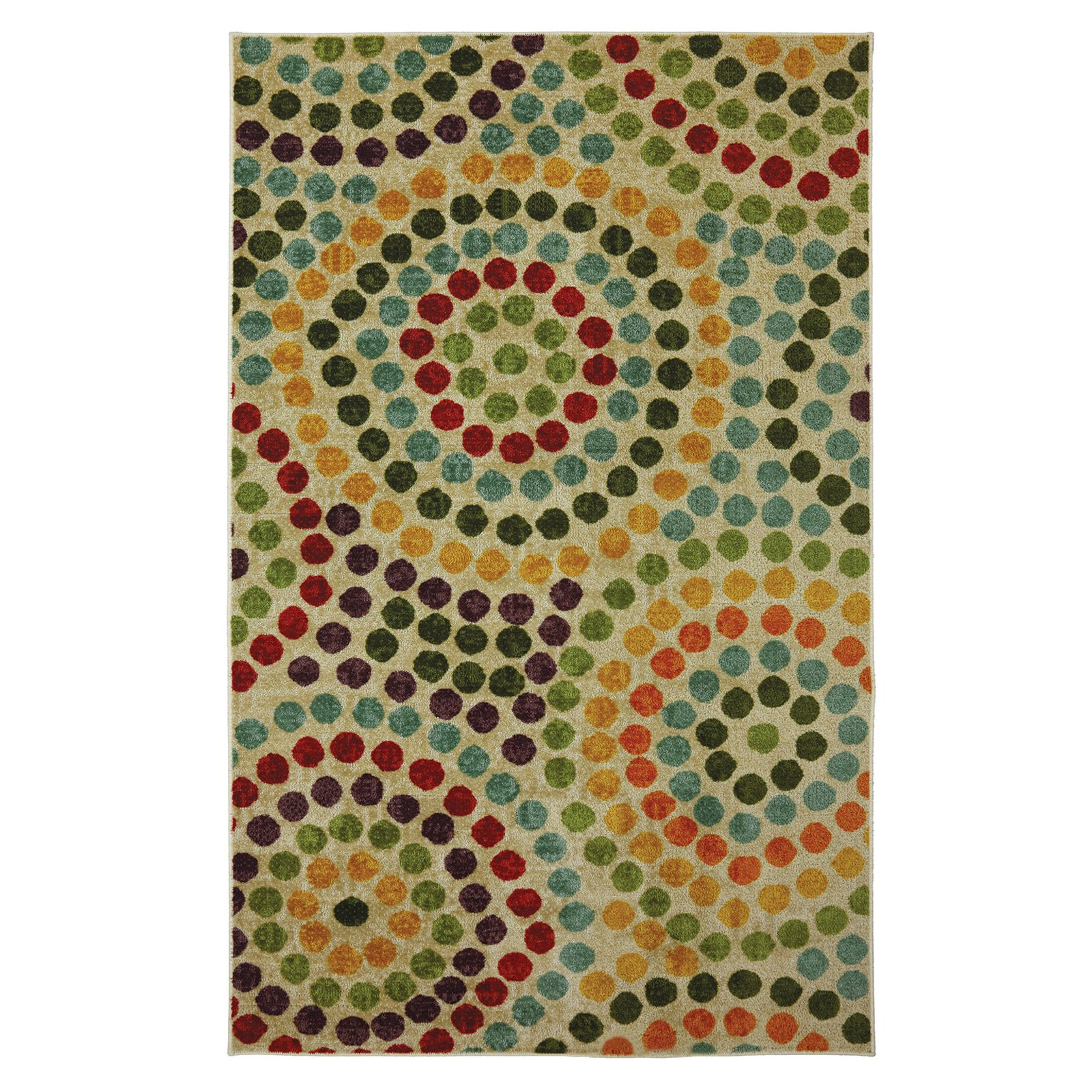 Mohawk Home Strata Mosaic Stones Multicolored Area Rug