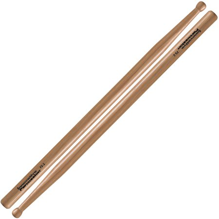 Innovative Percussion FS2 Marching Snare Field Series Standard Wood Tip Drumsticks w/ Short (Field Series Marching Drumsticks)