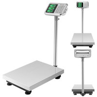 UBesGoo Heavy Duty 300kg 660lb Industrial Platform Postal Scale Weight Computing Scales